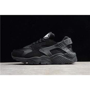 433ec49241b9 Men s and Women s Nike Air Huarache Run Triple Black 318429-003